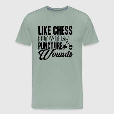 Fencing Puncture Wounds Shirt - Men's Premium T-Shirt