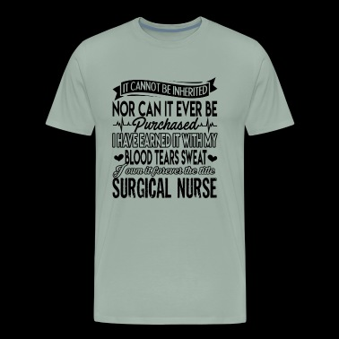 Forever Title Surgical Nurse Shirt - Men's Premium T-Shirt