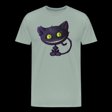 PURPLE CHESHIRE CAT - Men's Premium T-Shirt