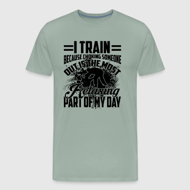 Train Jiu Jitsu Shirt - Men's Premium T-Shirt