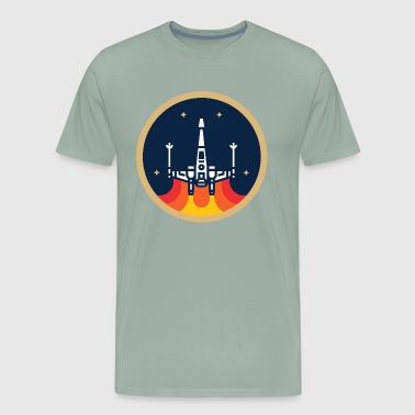 The X Wing Fighter - Men's Premium T-Shirt
