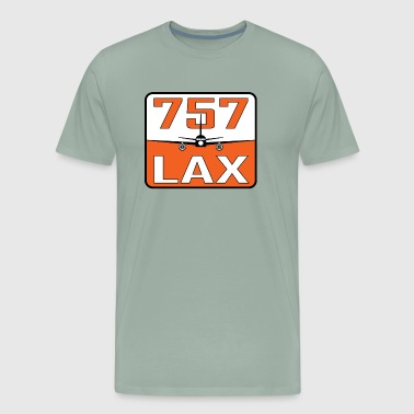LAX 757 - Men's Premium T-Shirt