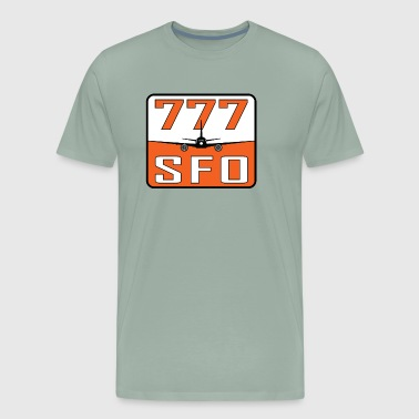 SFO 777 - Men's Premium T-Shirt