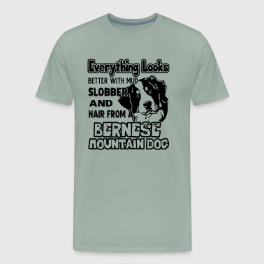 Love Bernese Mountain Dog Shirt - Men's Premium T-Shirt