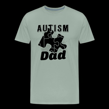 Autism Dad Shirt - Autism Dad T shirt - Men's Premium T-Shirt