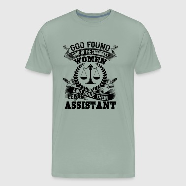 God Made Legal Assistant Shirt - Men's Premium T-Shirt