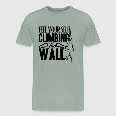 Climbing The Wall Shirt - Men's Premium T-Shirt