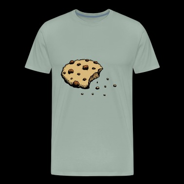 crumbling cookie sweet lovers baking biscuits gift - Men's Premium T-Shirt