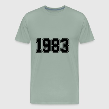 1983 | Year of Birth | Birth Year | Birthday - Men's Premium T-Shirt