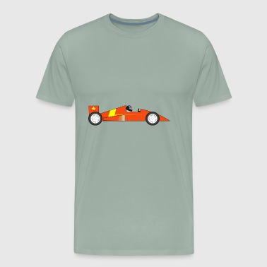 dragster racer automotive car automobil rennwagen4 - Men's Premium T-Shirt