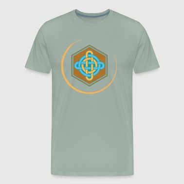 celtic knot viking color - Men's Premium T-Shirt
