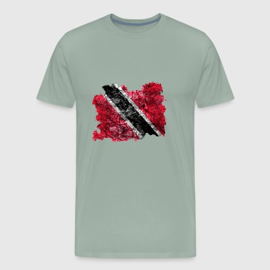 Trinidad and Tobago Vintage Flag - Men's Premium T-Shirt