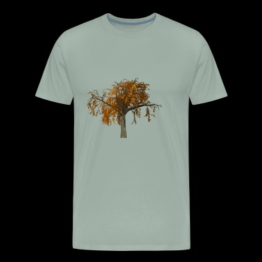 forest woods woodland wald tree baumstamm32 - Men's Premium T-Shirt