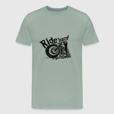 Bike lover Ride Hard - Men's Premium T-Shirt