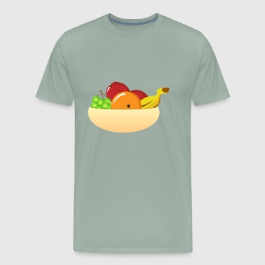 fruit bowl - Men's Premium T-Shirt