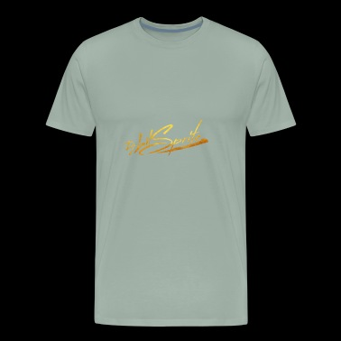 Logo Gold Transparent - Men's Premium T-Shirt