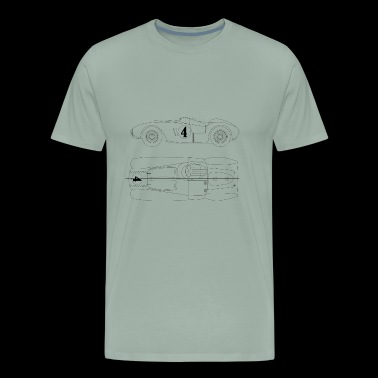 Classic racing car 375 - Men's Premium T-Shirt