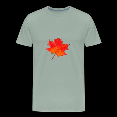Leave of Acer - Men's Premium T-Shirt