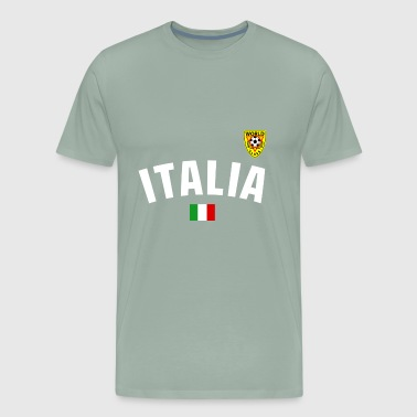 Italy National Football - Men's Premium T-Shirt
