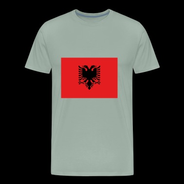 Flag of Albania drapeau Albanie - Men's Premium T-Shirt