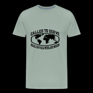 Brazil Sao Paulo Interlagos Mission - LDS Mission - Men's Premium T-Shirt