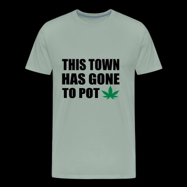 this tow has gane to pot - Men's Premium T-Shirt