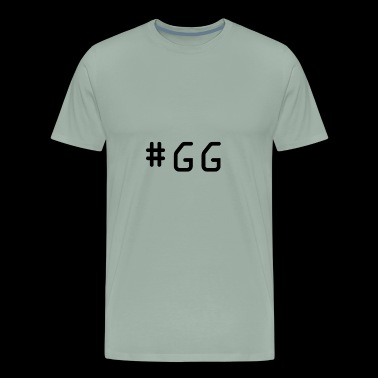#gg - Men's Premium T-Shirt