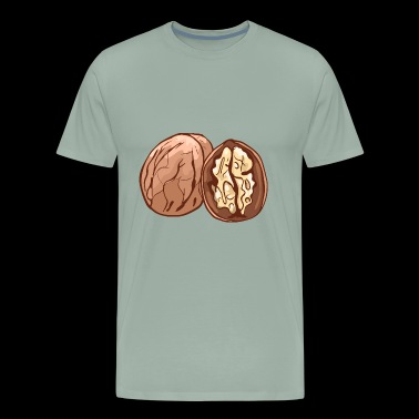 Walnut Walnuts Nuts Nut - Men's Premium T-Shirt