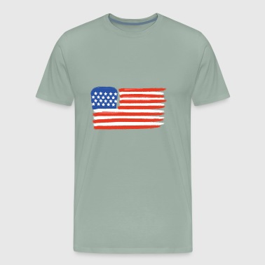 4th of July Special (Dry Pastel Version) - Men's Premium T-Shirt