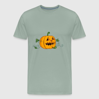 THE HALLOWEEN PUMPKIN - Men's Premium T-Shirt