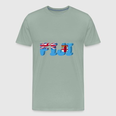 fiji - Men's Premium T-Shirt