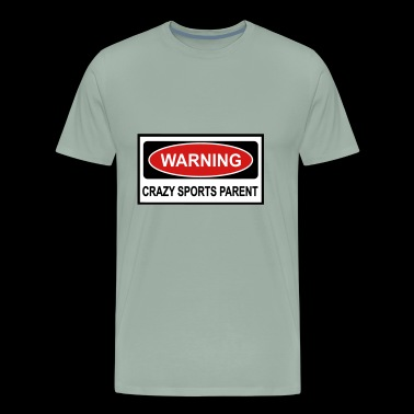 crazy sports parent - Men's Premium T-Shirt