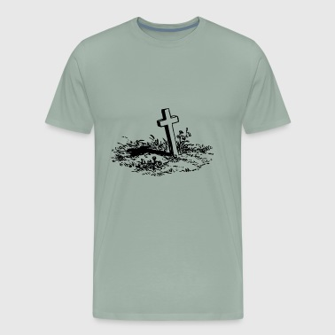 Jesus Christian Cross - Men's Premium T-Shirt
