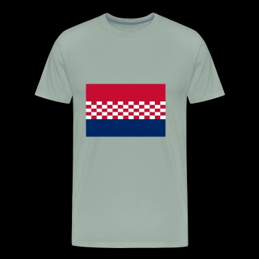 flag croatia design - Men's Premium T-Shirt