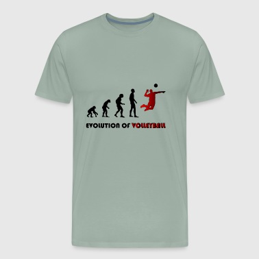 Evolution of volleyball - Men's Premium T-Shirt