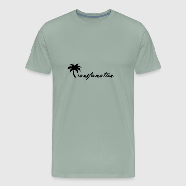 Transformation Coconut Tree - Men's Premium T-Shirt