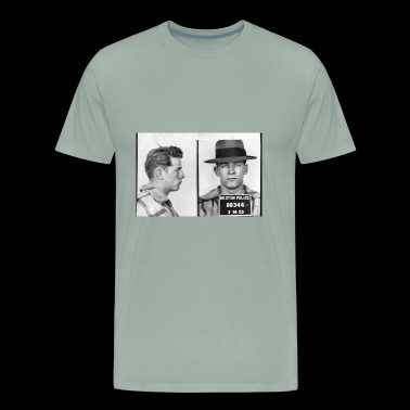 James Whitey Bulger Mug Shot 1953 Horizontal - Men's Premium T-Shirt
