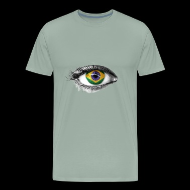 I've only got eyes for Brazil - Men's Premium T-Shirt