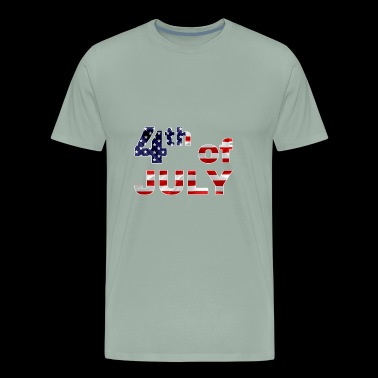 Fourth Of July - Men's Premium T-Shirt
