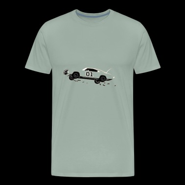 muscle american car - Men's Premium T-Shirt