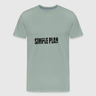 simple plan - Men's Premium T-Shirt
