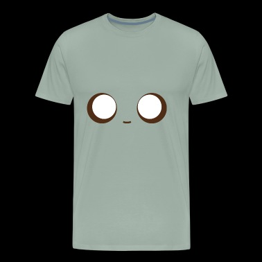 face with very big eyes - Men's Premium T-Shirt