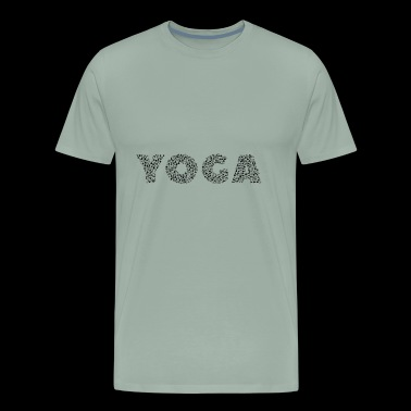 YOGA POSE - Men's Premium T-Shirt