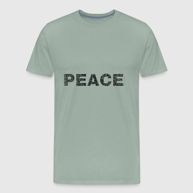 peace-war - Men's Premium T-Shirt