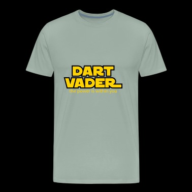 dart vader the power is within you - Men's Premium T-Shirt