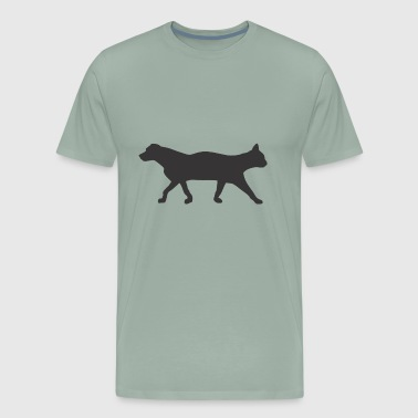 The Cat and The Dog - Men's Premium T-Shirt