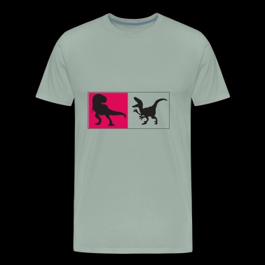 t rex - Men's Premium T-Shirt