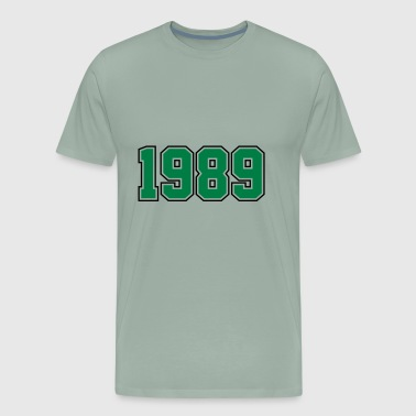 1989 | Year of Birth | Birth Year | Birthday - Men's Premium T-Shirt