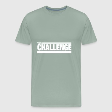 MTV The Challenge Logo - Men's Premium T-Shirt