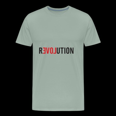 LOVE REVOLUTION - Men's Premium T-Shirt
